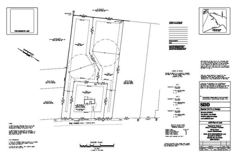 Land Survey Elm Street Auburn MA