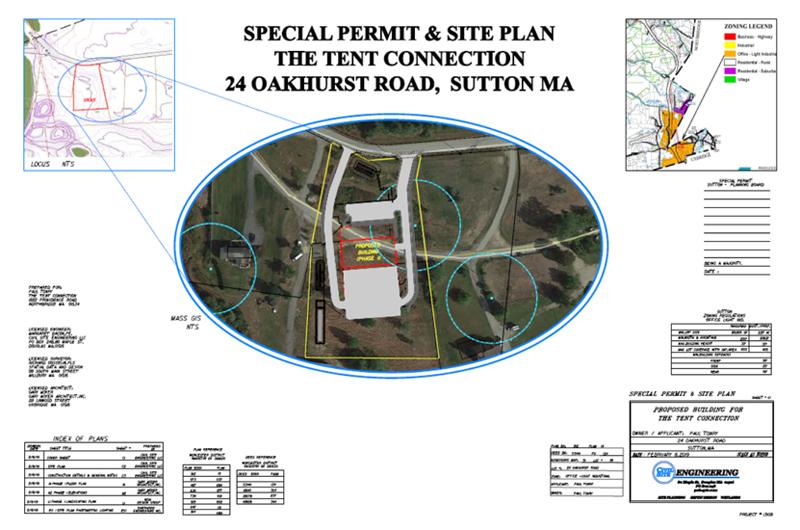 Site Plan Tent Connection Sutton
